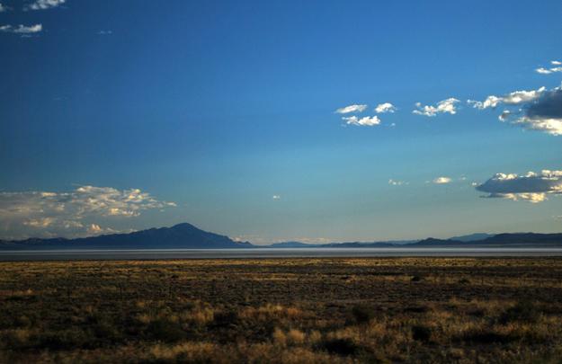 Dry Sevier Lakebed, West Desert, Utah